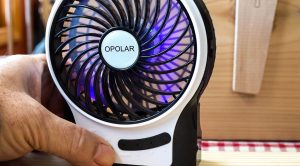 portable rechargeable fan usb